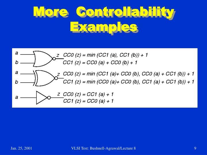 More  Controllability