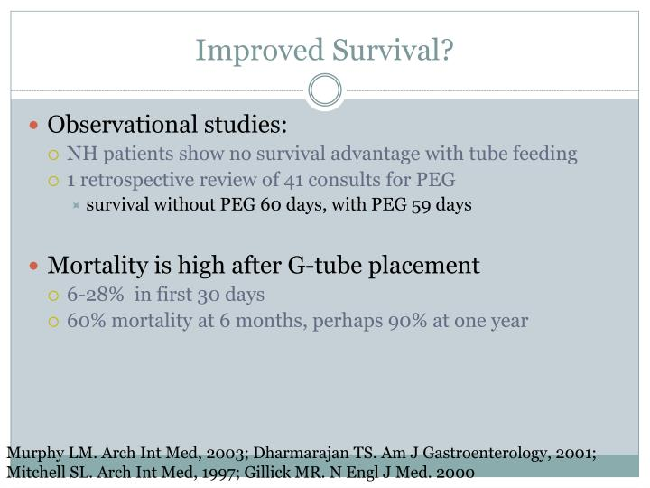 Improved Survival?
