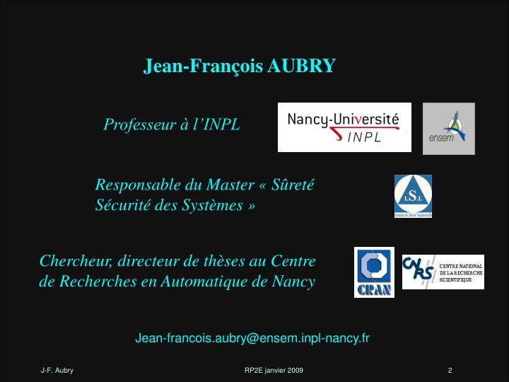 Jean-François AUBRY