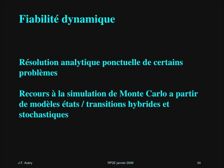 Fiabilité dynamique
