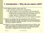 1 introduction why do we need a jas1