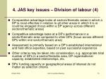 4 jas key issues division of labour 4