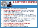 il software serpico
