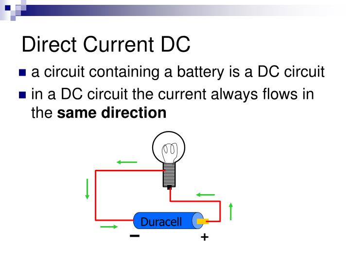 Dc current wiring auto electrical wiring diagram ppt electrical principles and wiring materials powerpoint rh slideserve com dc current wire size calculator dc keyboard keysfo Images