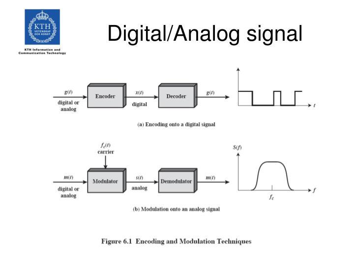 Digital analog signal