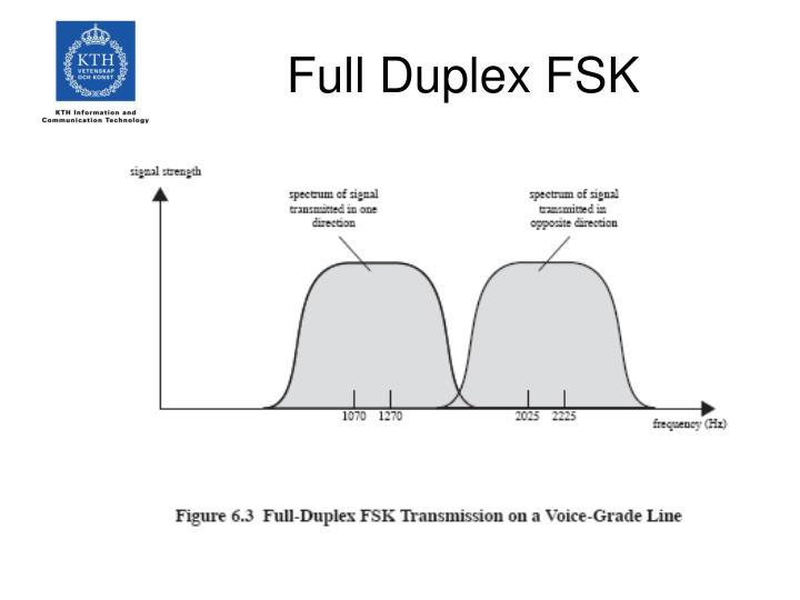 Full Duplex FSK