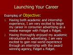 launching your career12