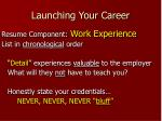 launching your career15