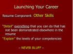 launching your career17