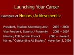 launching your career20