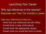 launching your career25