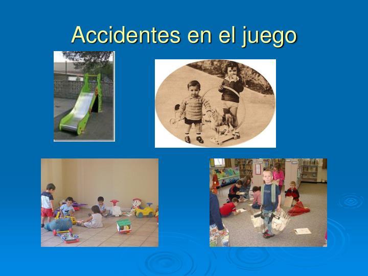 Accidentes en el juego