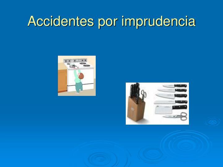Accidentes por imprudencia