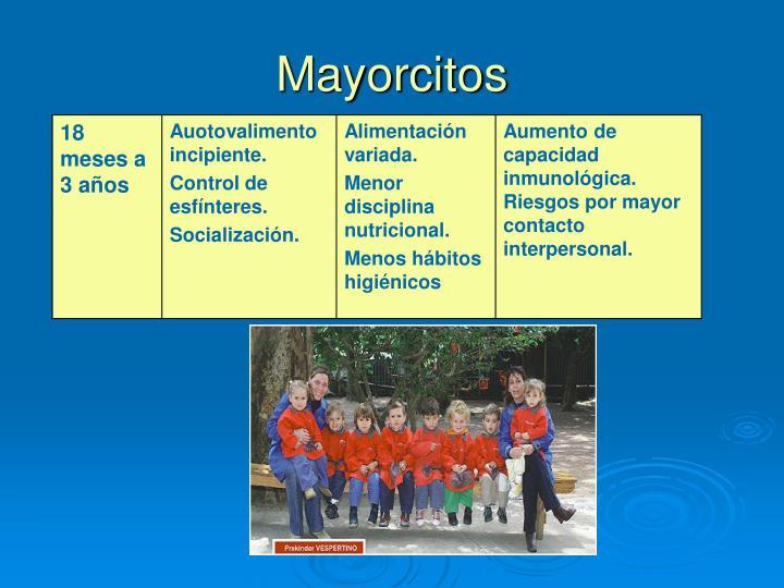 Mayorcitos
