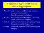 a hypertonia leggyakoribb okai az letkor f ggv ny ben