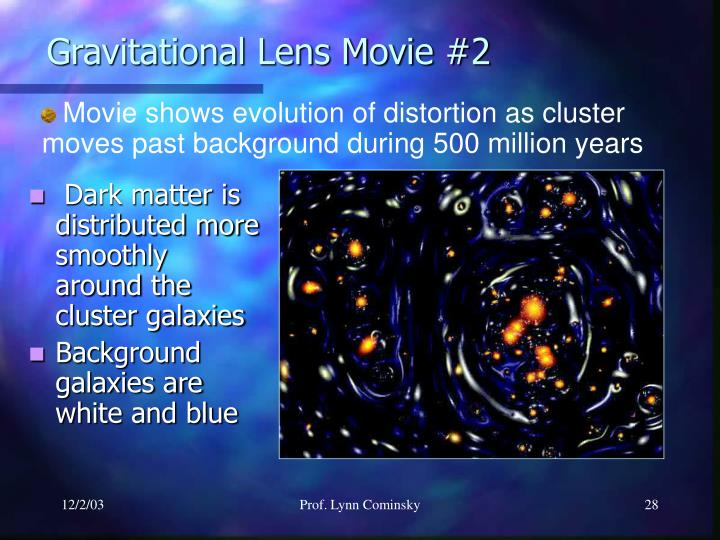 Gravitational Lens Movie #2