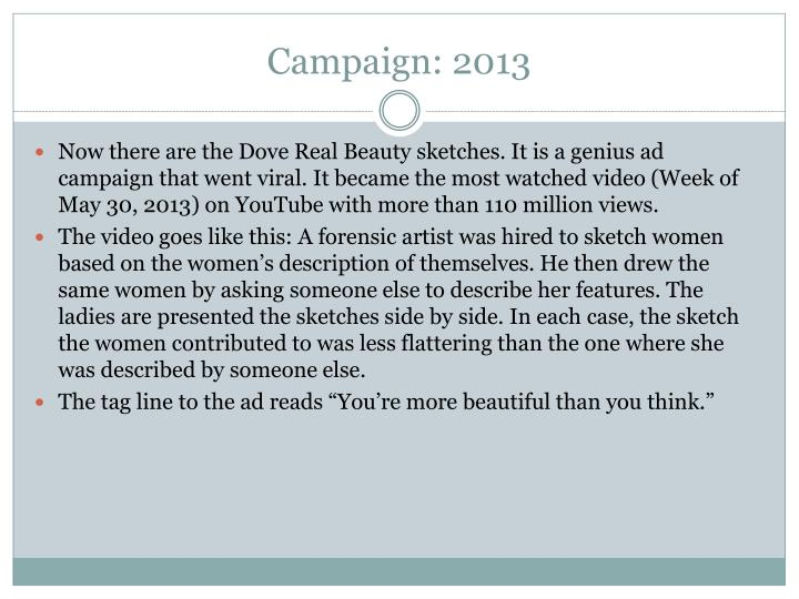 Campaign: 2013