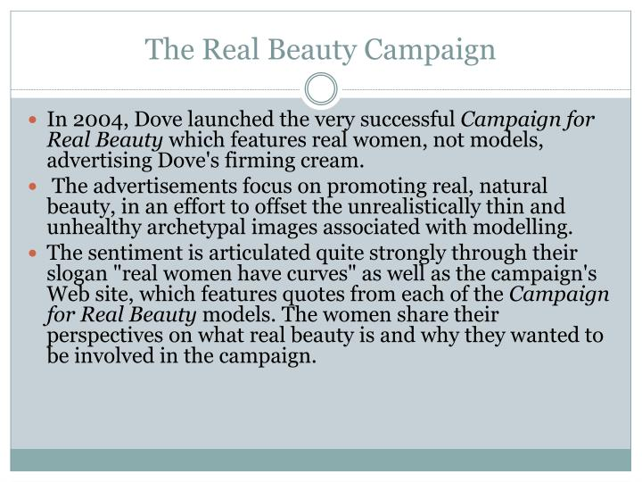 The real beauty campaign