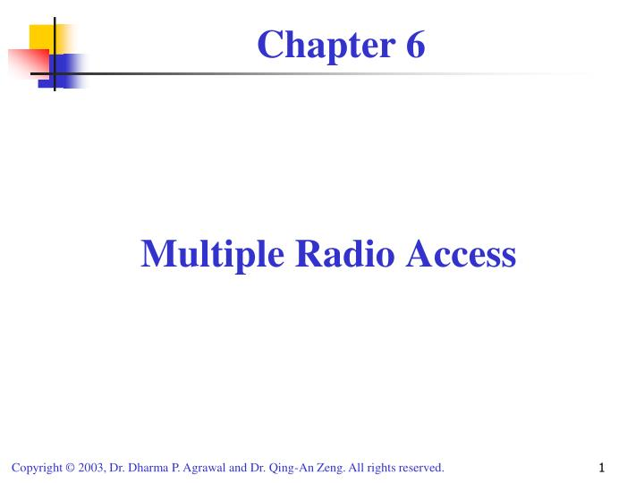 Multiple Radio Access