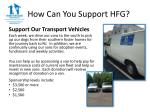 how can you support hfg5