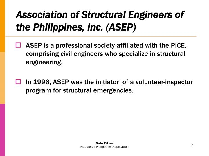 Association of Structural Engineers of the Philippines, Inc. (ASEP)