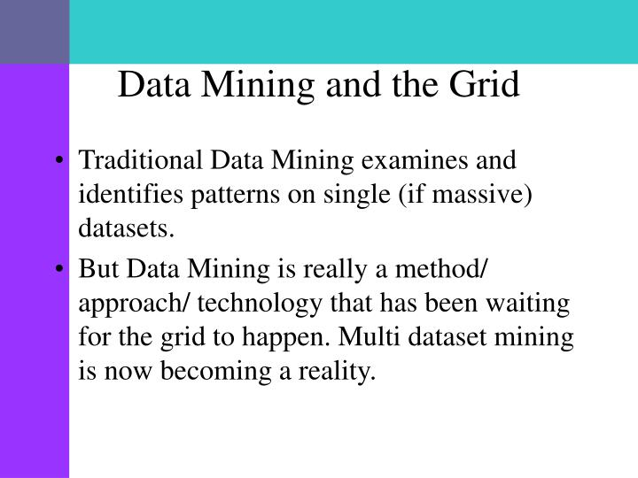 Data Mining and the Grid