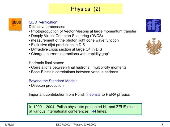 Physics  (2)