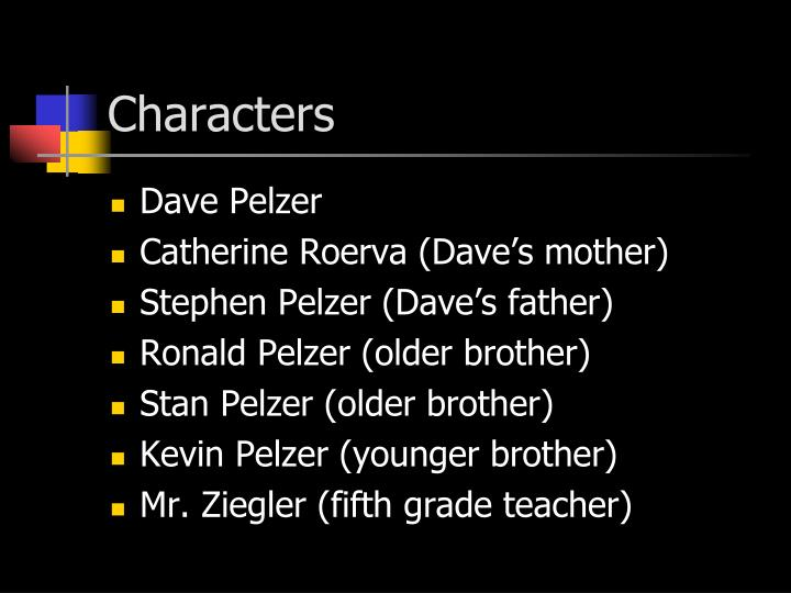 david pelzer brothers
