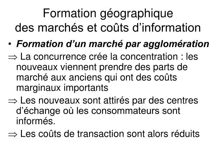 Formation géographique