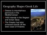 geography shapes greek life