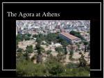 the agora at athens