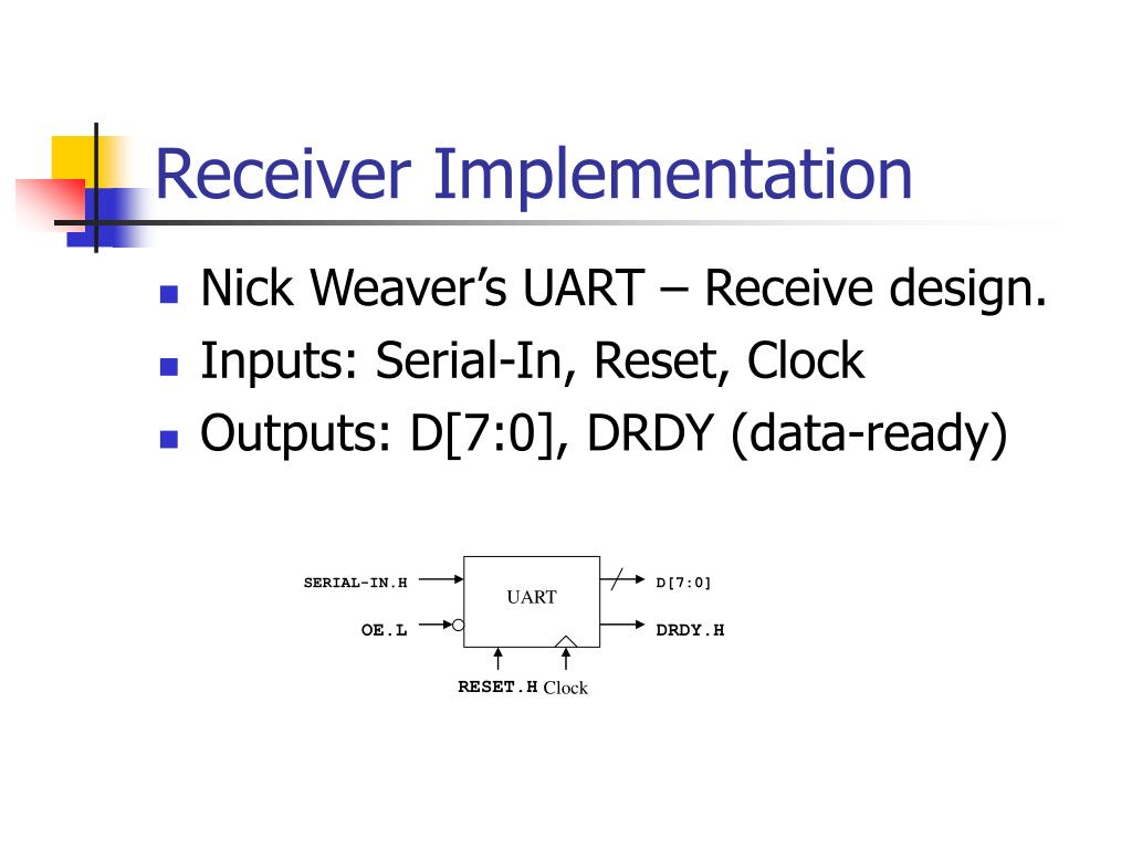Uart Implementation