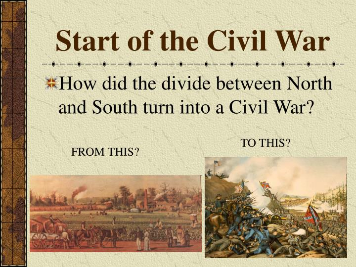 conflict between the north and south prolonged the civil war Economy and the civil war constrasting economics of the north and south,economics while regional tensions and conflicts remained, the end of the civil war.
