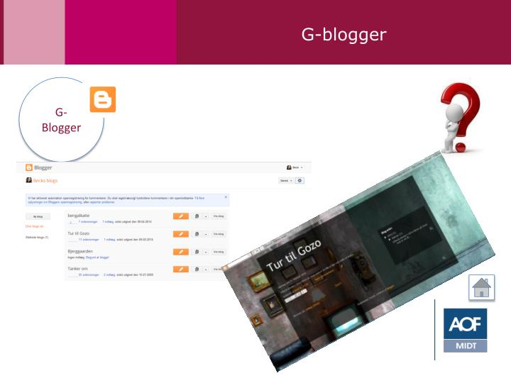 G-blogger