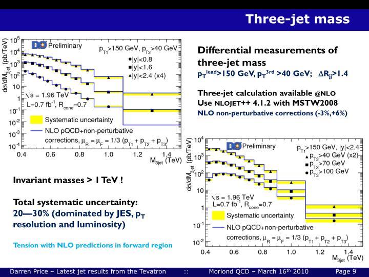 Three-jet mass