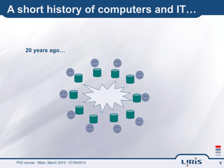 A short history of computers and IT…