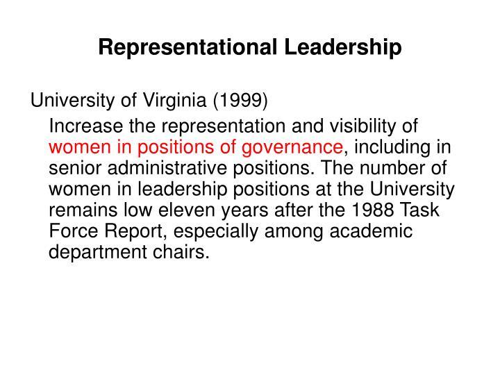 Representational Leadership