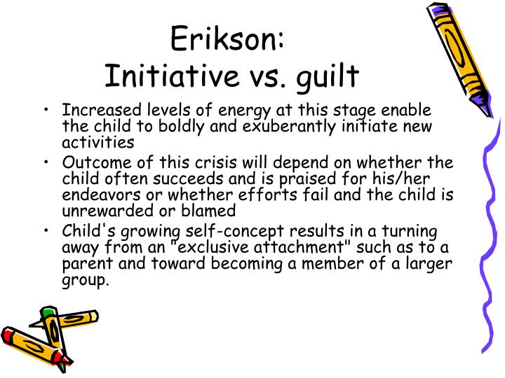 erikson initiative vs guilt