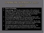financing strategy 2010 2015