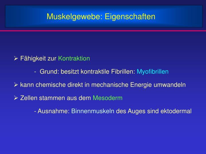 PPT - Muskelgewebe: Arten PowerPoint Presentation - ID:4046392