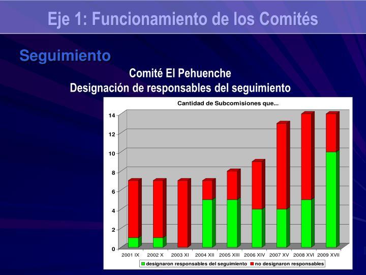 Eje 1: Funcionamiento de los Comités