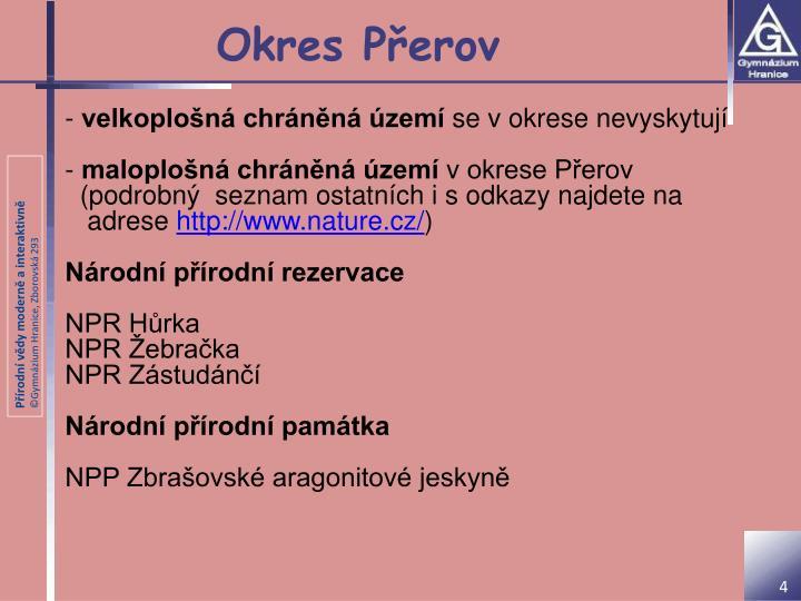 Okres Přerov