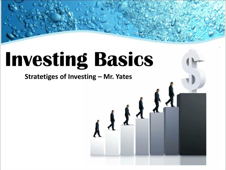 Investment basics powerpoint carry forward annual investment allowances