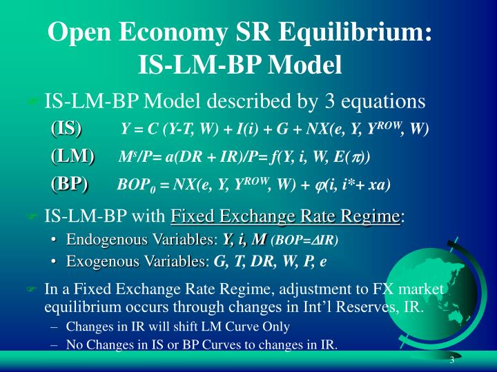 open economy 3 open economy : no tariffs and non transportation costs imply the law of one price that is, p 1 and p 2 prevail in all countries (output price equalization) the open economy's problem is to choose y 1, y 2, x 1 and x 2 to maximize u(x 1, x 2), subject to a single constraint that the total value of consumption is equal to that of production, ie.