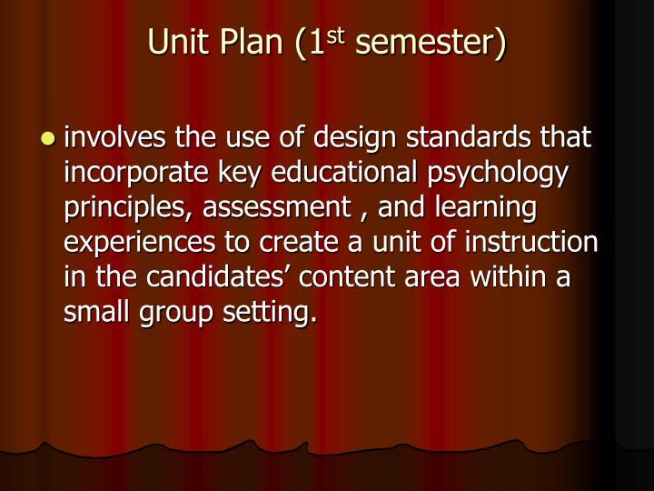 Unit Plan (1