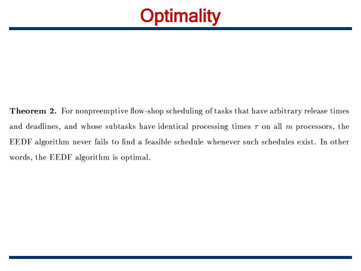 Optimality
