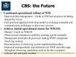 cbs the future