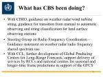 what has cbs been doing1