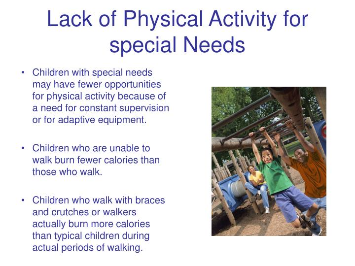 Lack of Physical Activity