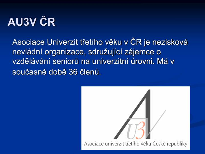 AU3V ČR